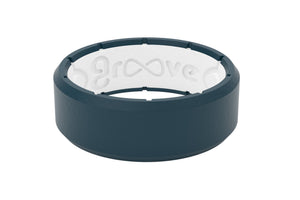 Edge Men's Wedding Band Groove Life Silicone Ring IMAGE 01