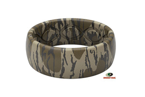 Mossy Oak Bottomland Camo Silicone Rings