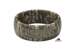 Original Mossy Oak GameKeeper Camo - Groove Life Silicone Wedding Rings