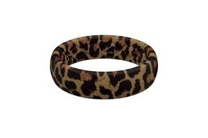 Thin Aspire Leopard - Groove Life Silicone Wedding Rings
