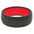 Black Red Silicone Wedding Rings