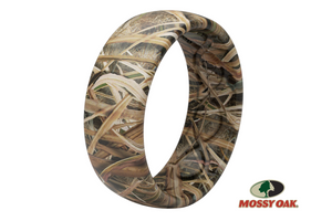 Blades Pattern Mossy Oak Camo Silicone Rings
