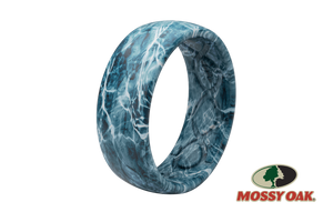 Mossy Oak Spindrift Mens Silicone Rings