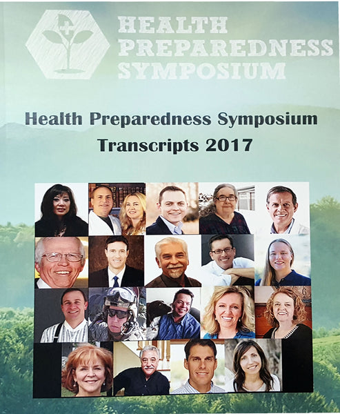 Health Preparedness Symposium TRANSCRIPTS- BOOK ONLY