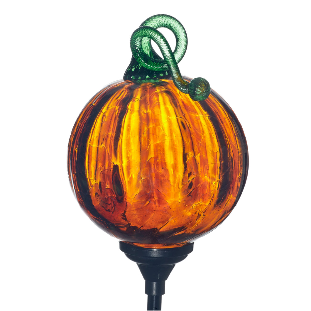 Pumpkin Solar Lighting
