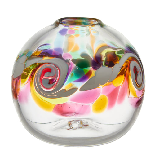 Round Colour Wave Vase
