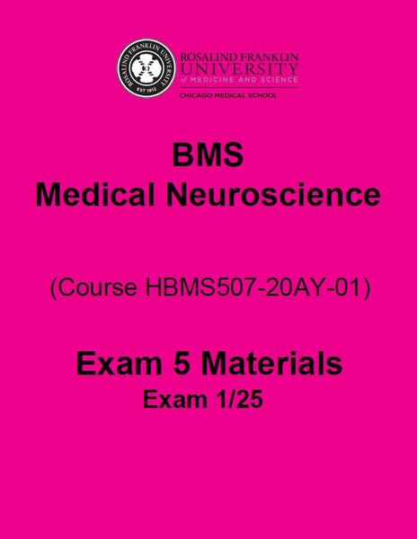 SN2020 BMS MEDICAL NEUROSCIENCE BOOK 5