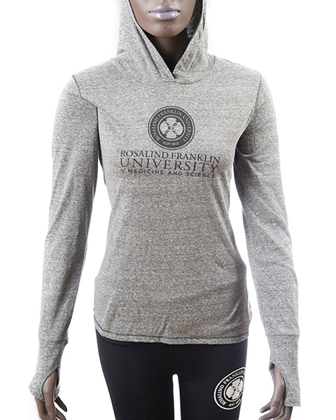 WOMENS JERSEY HOODED PULLOVER