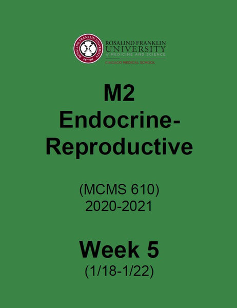 SN2020 M2 ENDOCRINE - REPRODUCTIVE BIOLOGY BOOK 5
