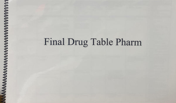 SS2020 FINAL DRUG TABLE PHARM