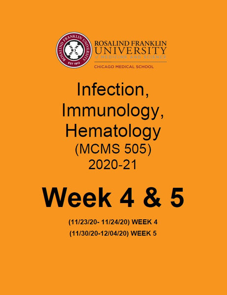 SN2020 CMS INFECTION IMMUNOLOGY & HEMATOLOGY BOOK 4 & 5