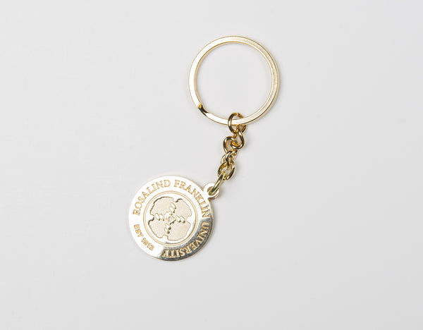 Key Tag Gold Tone