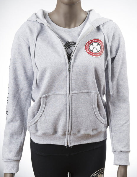Ladies Zippered Sweatshirt