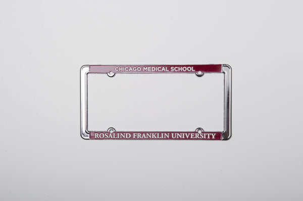 License Plate Frame  Chicago Medical School