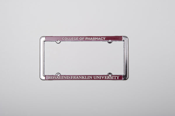 License Plate Frame  College of Pharmacy