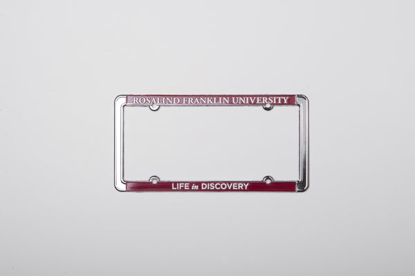 License Plate Frame  Rosalind Franklin University