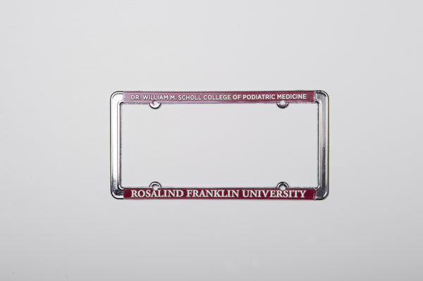 License Plate Frame  Scholl College of Podiatric Medicine