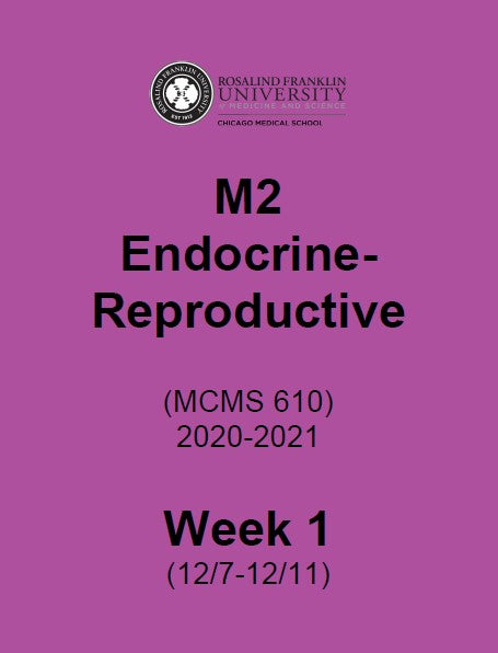SN2020 M2 ENDOCRINE-REPRODUCTIVE BIOLOGY BOOK 1