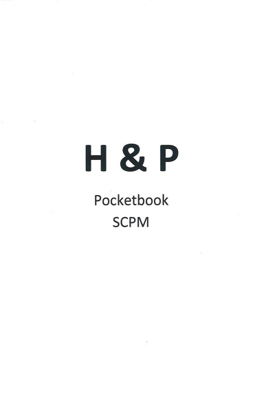 PODIATRIC H&P POCKET BOOK, Student Created Study/Learning Materials