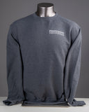 Sweatshirt, Crew Neck Unisex, Champion® Charcoal Heather
