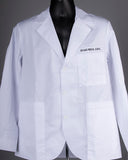 WHITE COAT, CMS, EMBROIDERED CONSULTATION COAT W/PATCH, CHICAGO MEDICAL SCHOOL