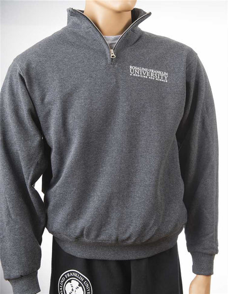 Cadet Collar Sweatshirt