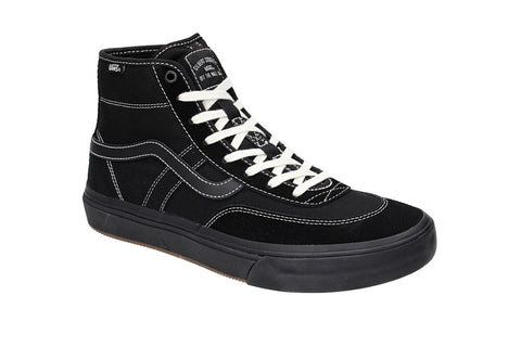 Crockett High Pro Shoe Blk/Blk (size options listed)