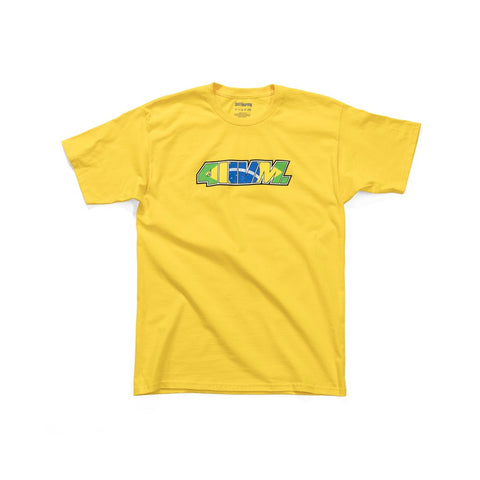411VM Issue 64 S/S Tee Shirt Yellow (size options listed)