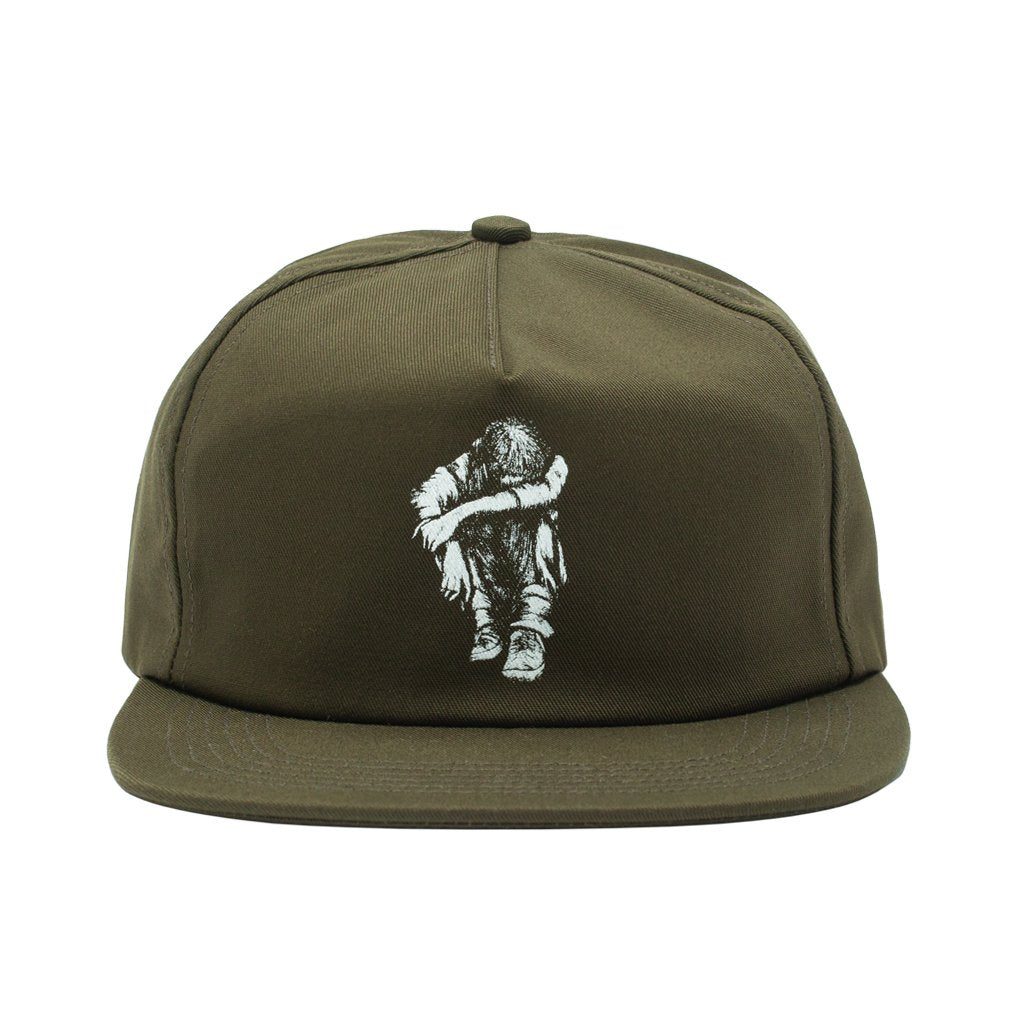 Missing Kid 5-Panel Adjustable Snapback Hat Olv OS
