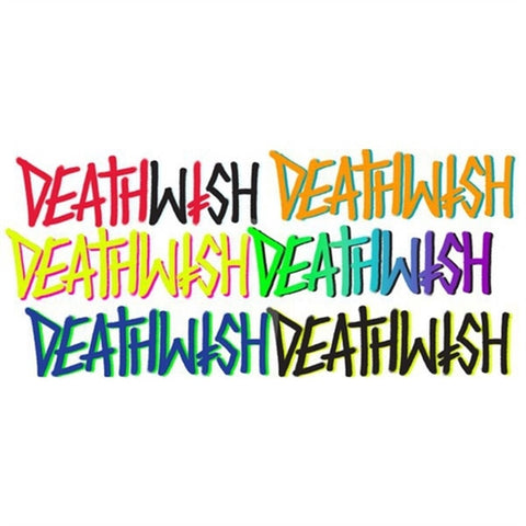 Deathspray Sticker Assorted Colors 2.25in X 6in