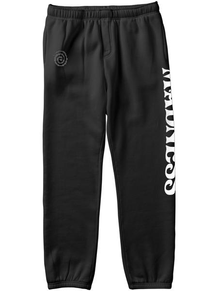 Line Up Sweat Pant Vintage Blk (size options listed)