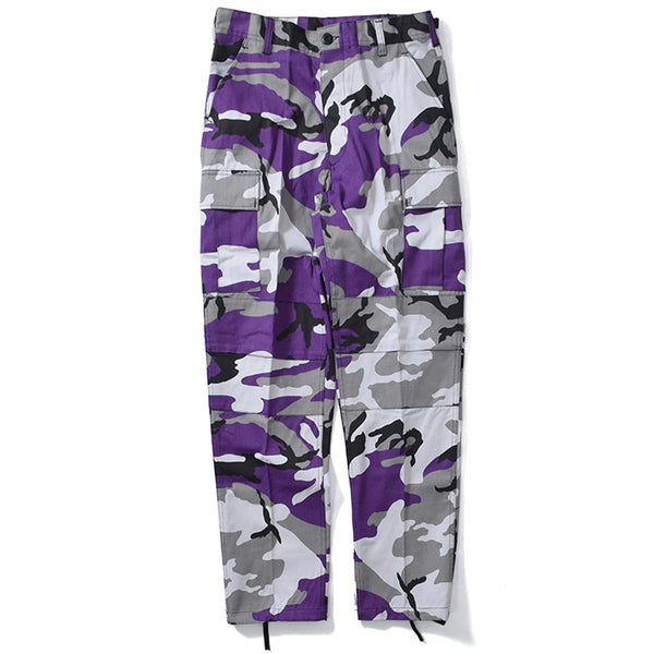 Flowers BDU Ultra Violet Camo Cargo Pants (size options listed)