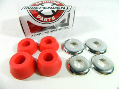 Genuine Parts 4pk Low Cushions Soft (92a) Red Bushings