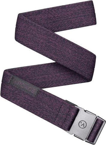Ranger Slim Wine Heather Belt OSFA