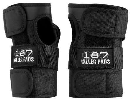 187 Regular Wrist Guards Blk (size options listed)