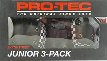 Pro Tec Street Gear JR 3 Pack (size & color options listed)