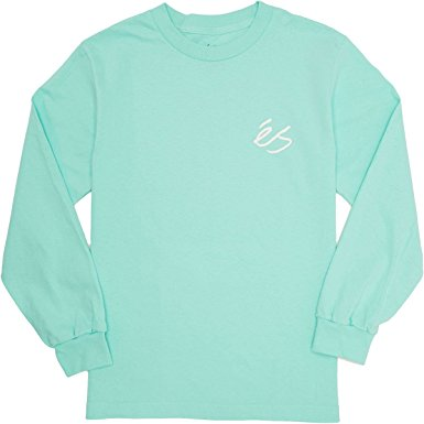 Script Long Sleeve Tee Shirt (size and color options listed)