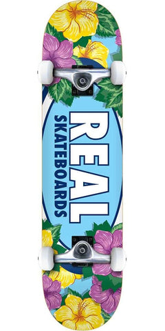 Oval Blossoms Complete Skateboard 8.0