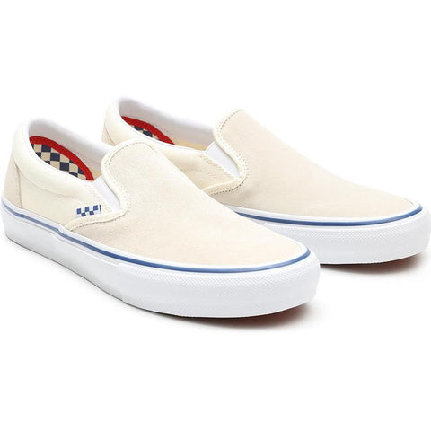 Skate Slip On Shoe Off Wht (size options listed)
