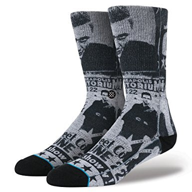 Cash Flyer V2 Socks Blk Mens/Lrg