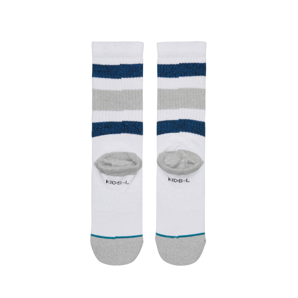 Boyd Socks Wht Kids/Lrg