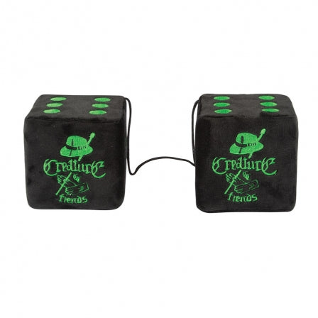 Car Club Hanging Dice Set Black OS