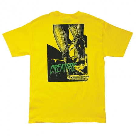 Nothing S/S Regular Tee Shirt Yel (size option listed)