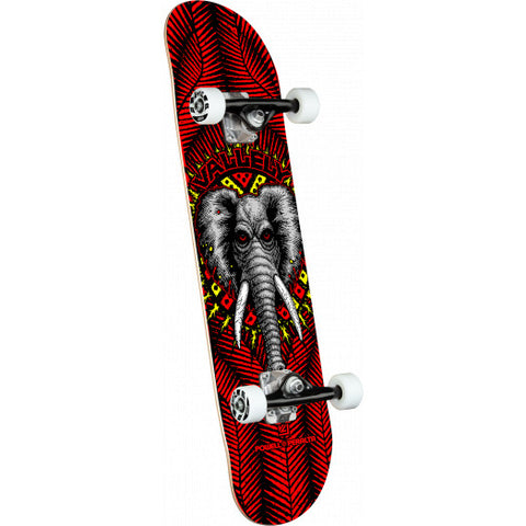 Powell Peralta Mike Valley Elephant Red Birch Pro Skateboard Complete 8.25 X 31.95