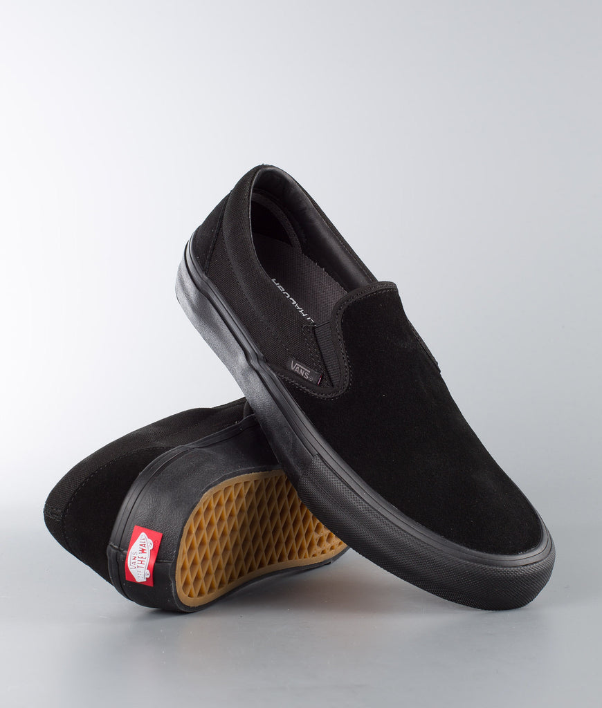 Slip On Pro Shoe Blackout (size options listed)