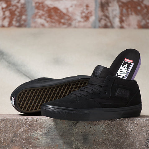 Skate Half Cab Steve Caballero Pro Shoe Blk/Blk (size options listed)