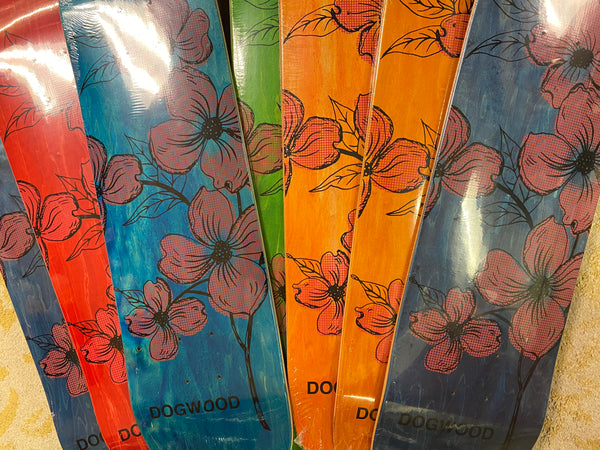Flowers Shop Deck Assorted Stain Colors (size options listed)