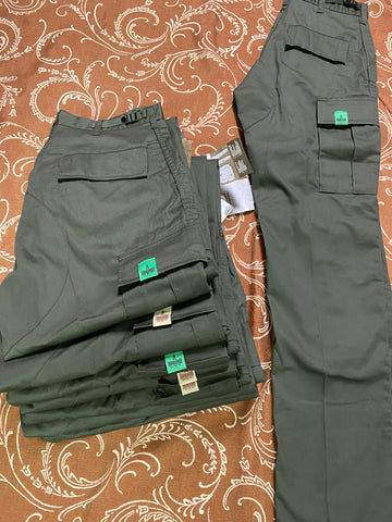 Plug Bdu Cargo Pants Olv Tag Color Assorted (size options listed)