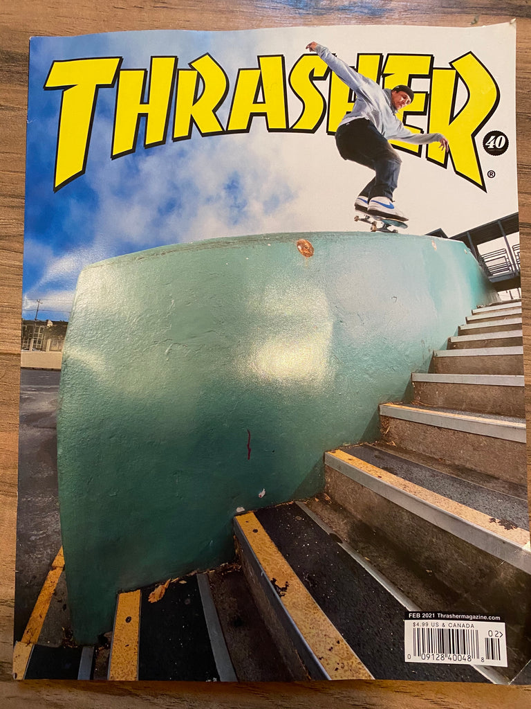 Thrasher Magazine February 2021 Issue #487