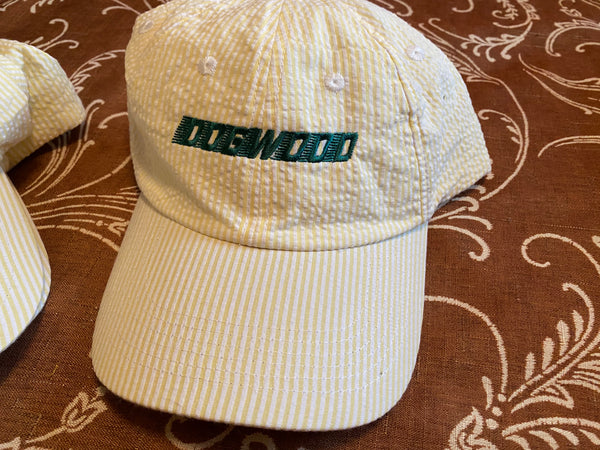 Speedwave Emb Searsucker Adjustable Hat Ylw/Grn OS